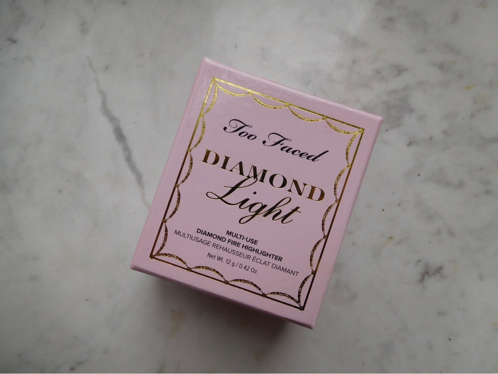 Too Faced Diamond Highlighter Review