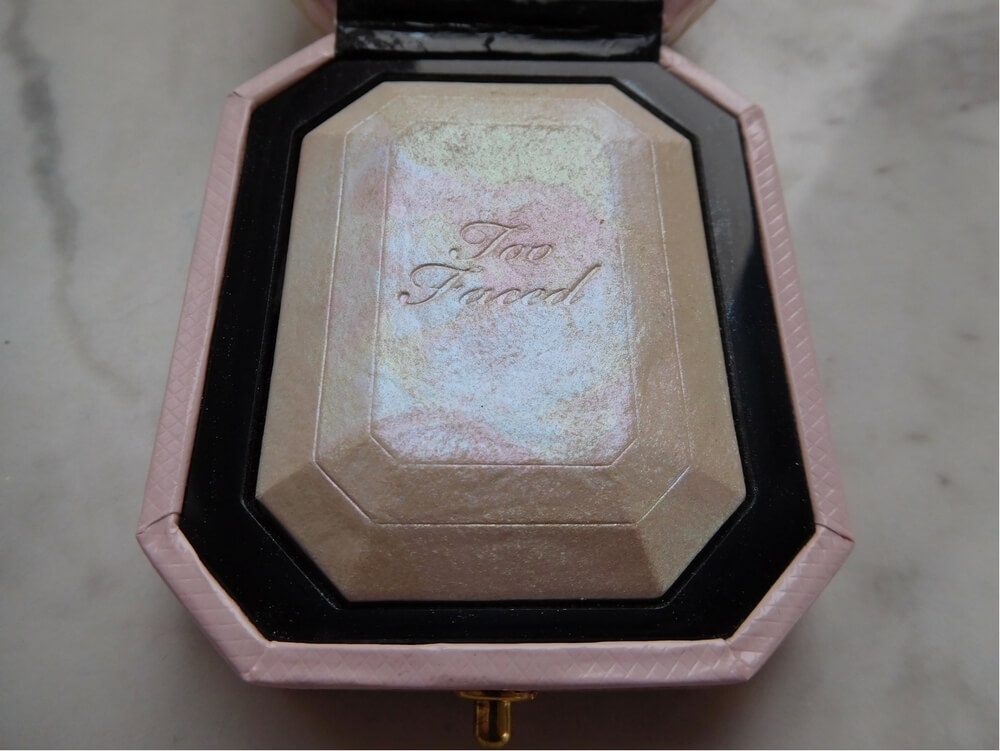 Too Faced Diamond Highlighter close-up