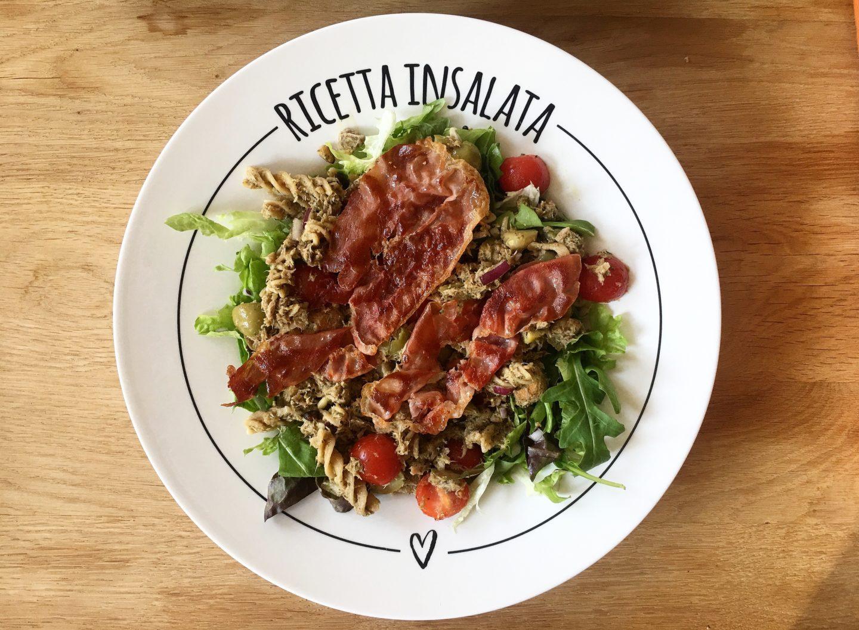 Gezonde recepten: Pastasalade met tonijn en serranoham