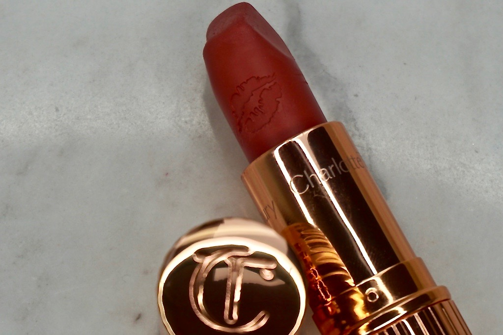 Charlotte Tilbury Matte Revolution Lipstick Super Cindy Review