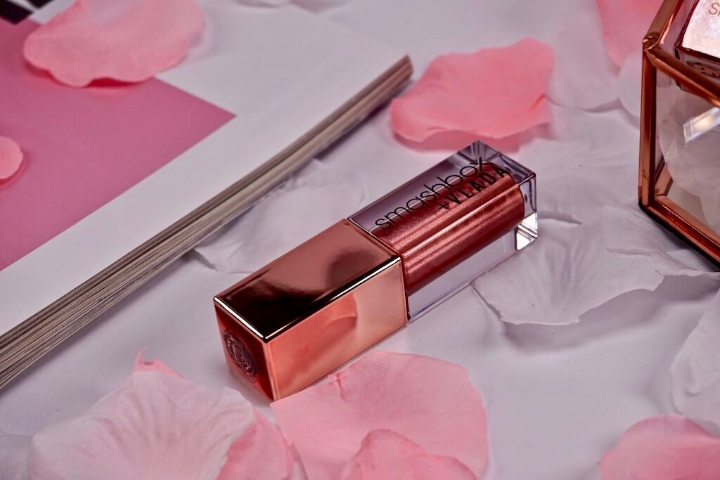 Smashbox + VLADA Always On Petal Metal Liquid Lipstick In Bloom