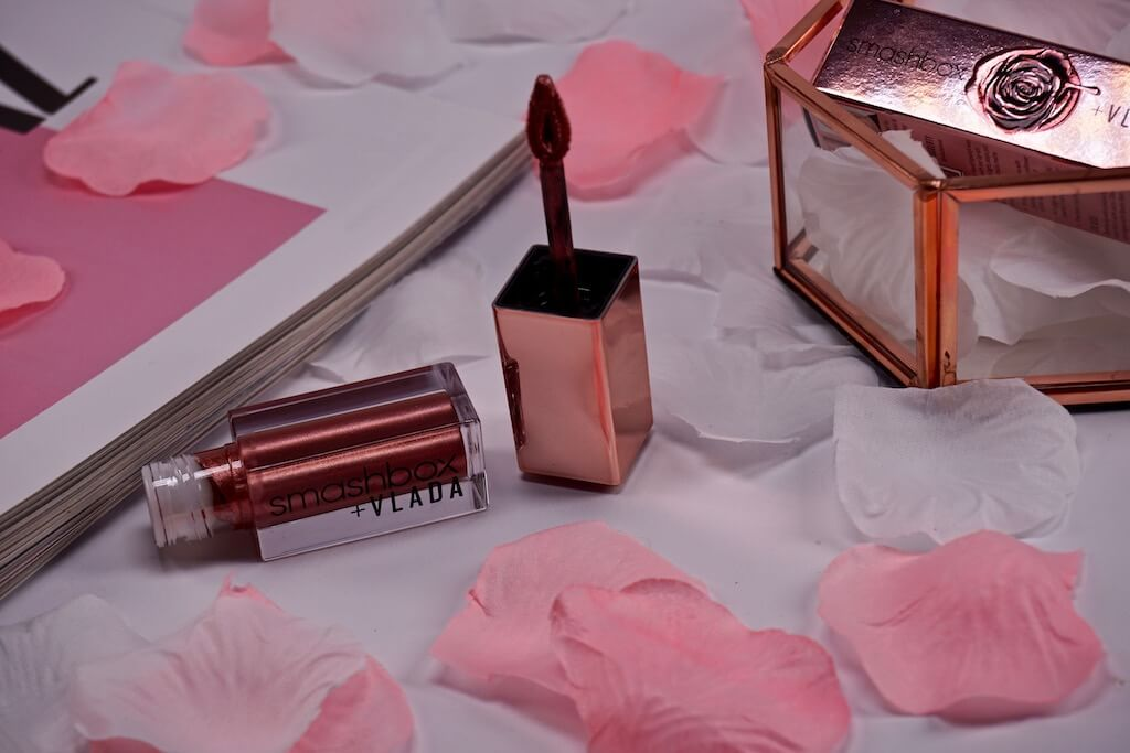 Smashbox + VLADA Always On Petal Metal Liquid Lipstick In Bloom
