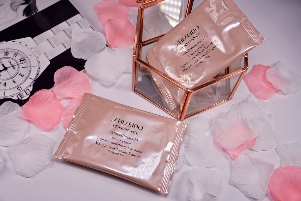Shiseido Benefiance WrinkleResist24 Smoothing Eye Mask