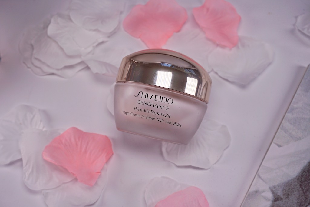 Shiseido Benefiance WrinkleResist24 Night Cream - nachtcrème