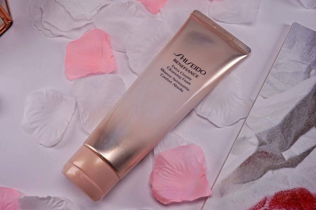 Shiseido Benefiance Extra Creamy Cleansing Foam - gezichtsreiniging