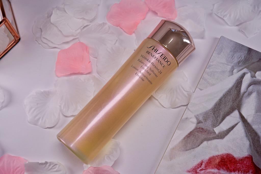 Shiseido Benefiance WrinkleResist24 Balancing Softener Enriched - gezichtslotion