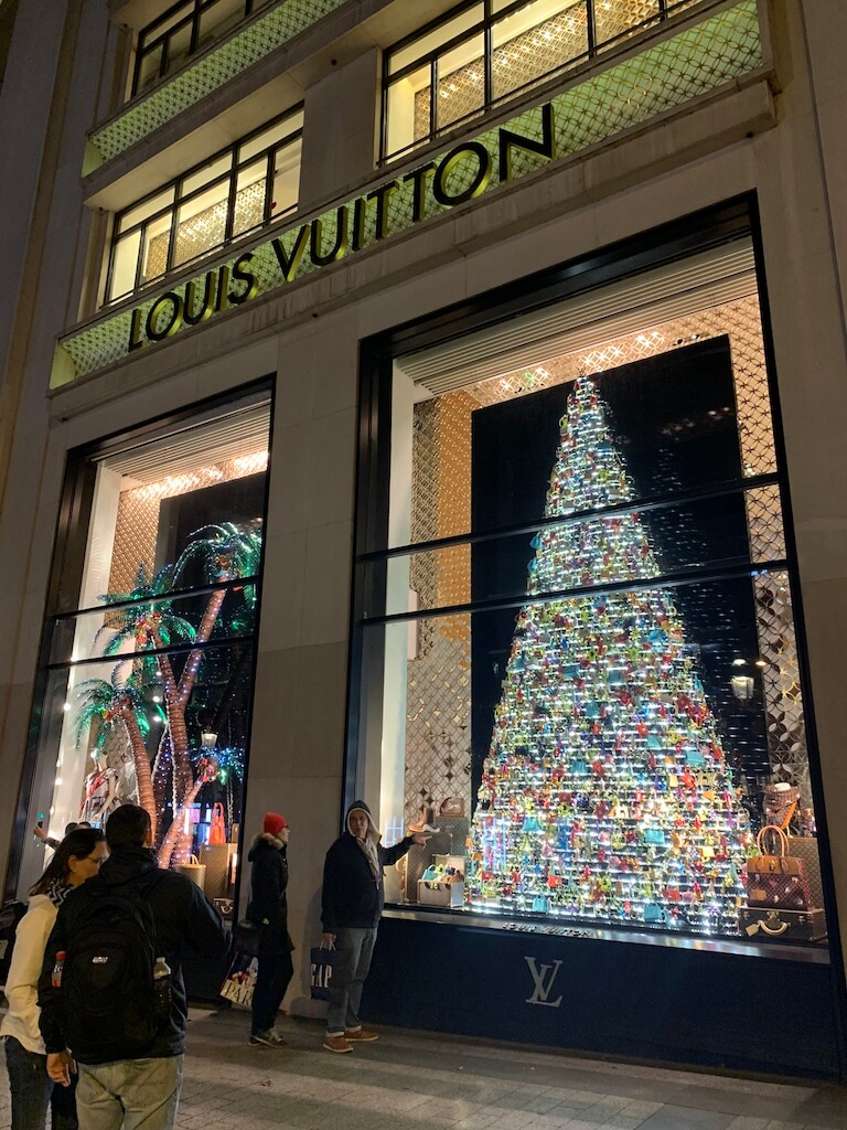 Louis Vuitton op deChamps-Élysées