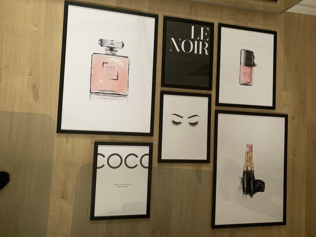 Chanel makeup posters
