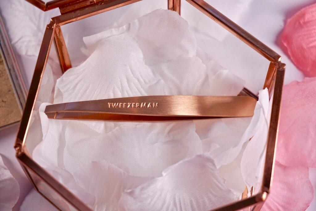 Tweezerman Tweezers Rose Gold Pincet