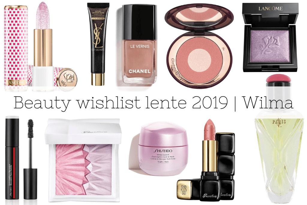 Mijn beauty wishlist voor de lente 2019 | Wilma