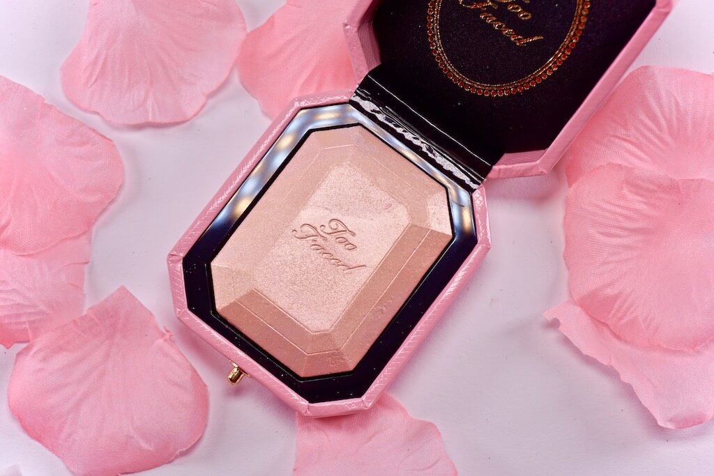 Too Faced Pretty Rich Fancy Pink Diamond Highlighter & Diamond Light Penseel