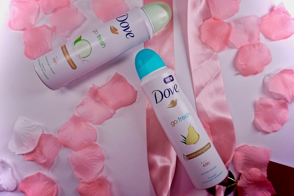 Dove Go Fresh Cucumber & Green Tea en Pear & Aloe Vera Deodorant Spray