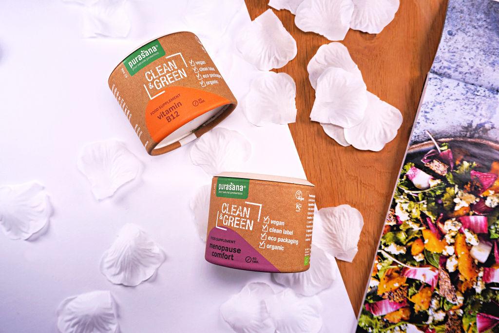 Purasana Clean & Green Vitamin B12 en Menopause Comfort (duo review)