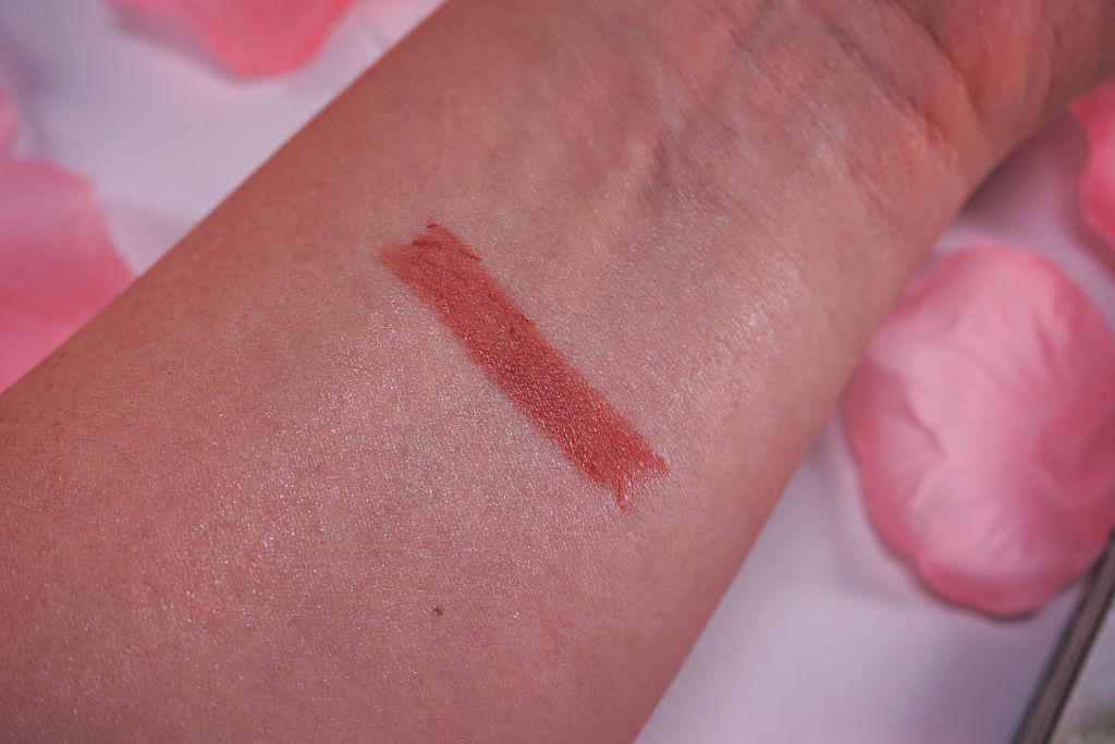 HEMA Wetshine Lipstick Garnet Brown Review