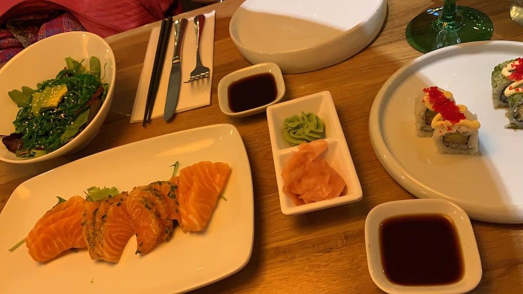 Sushi eten Sumo Oriental Breda