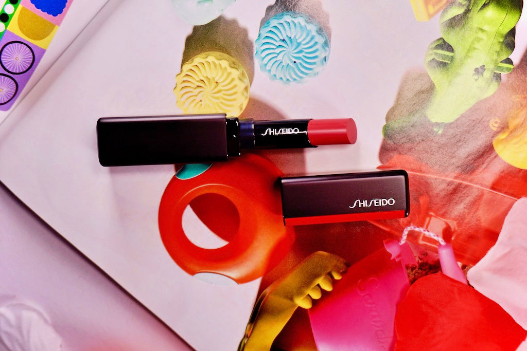 Shiseido Vision Airy Gel Lipstick 207 Pink Dynasty Review