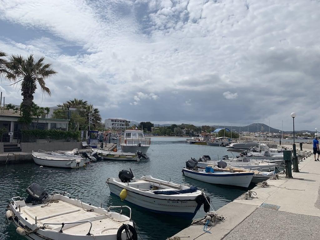 Zondag 12 mei: Boottocht langs het eiland