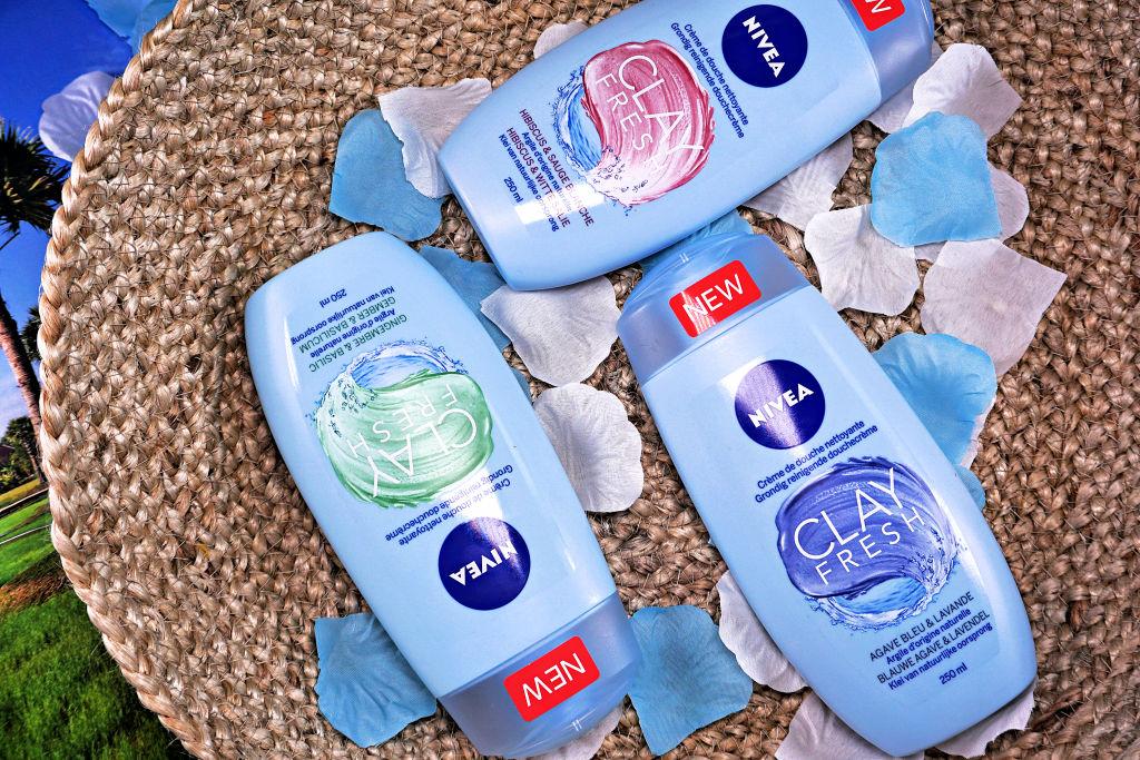 NIVEA Clay Fresh: grondig reinigende douchecrème met klei (duo review)