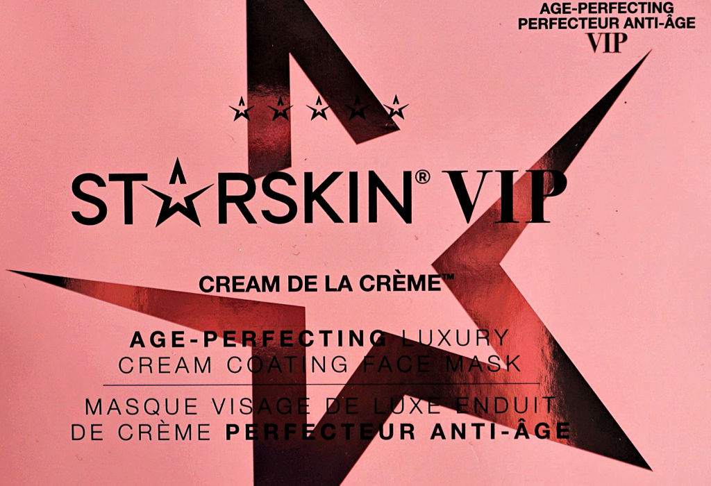 Starskin Cream de la Crème Age-Perfecting Sheet Masker Review