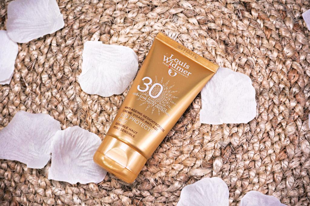 Louis Widmer Sun Protection Face zonnebrand voor het gezicht review
