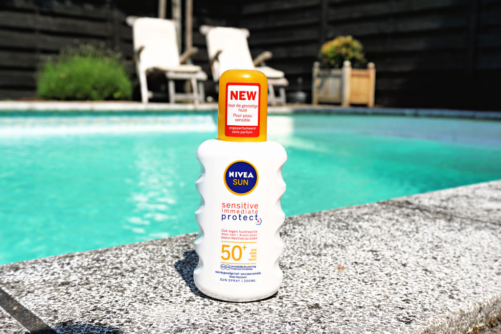 NIVEA Sun sensitive immediate protect SPF 50+ Zonnebrand review