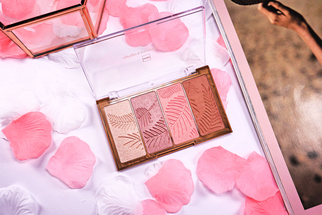 HEMA Highlight & Bronzing Palette