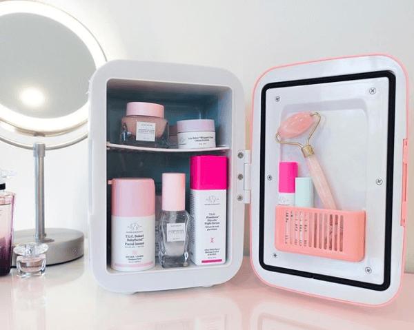 Skincare / make-up fridge