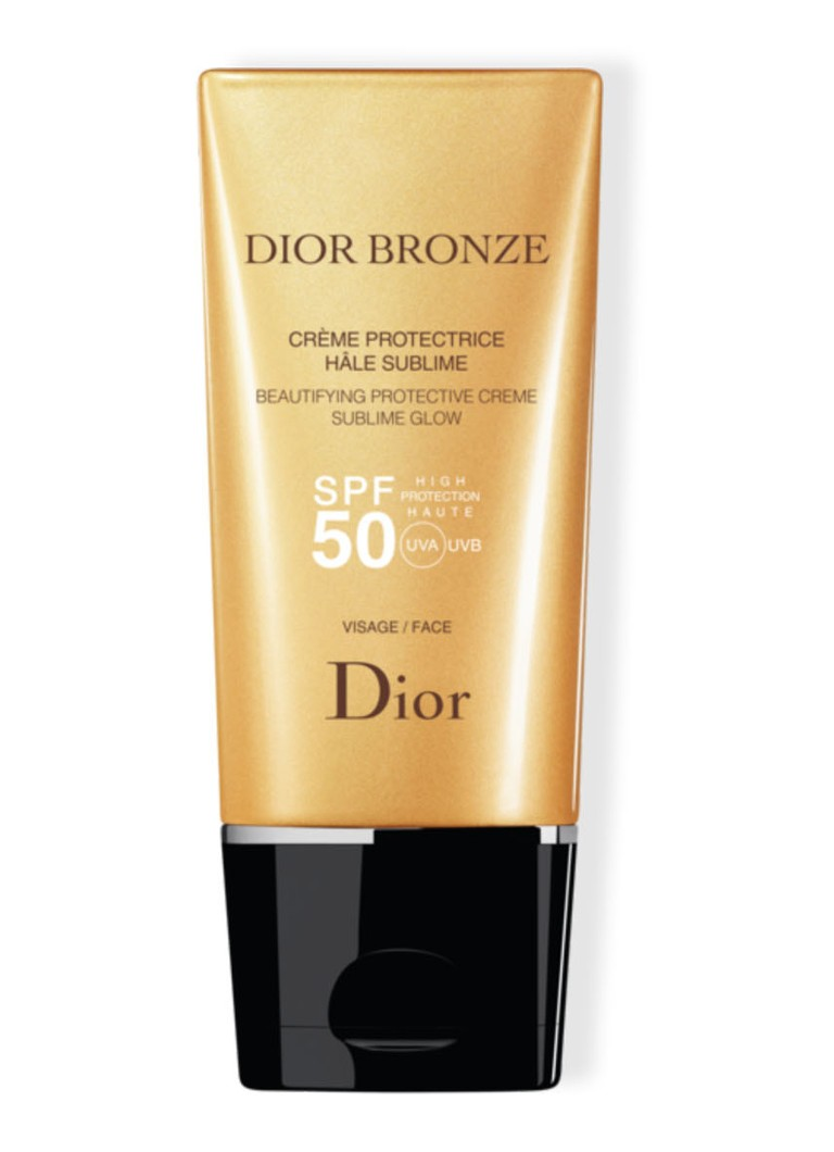 Dior Bronze Beautifying Protective Crème Sublime Glow SPF50 Face - zonnebrand