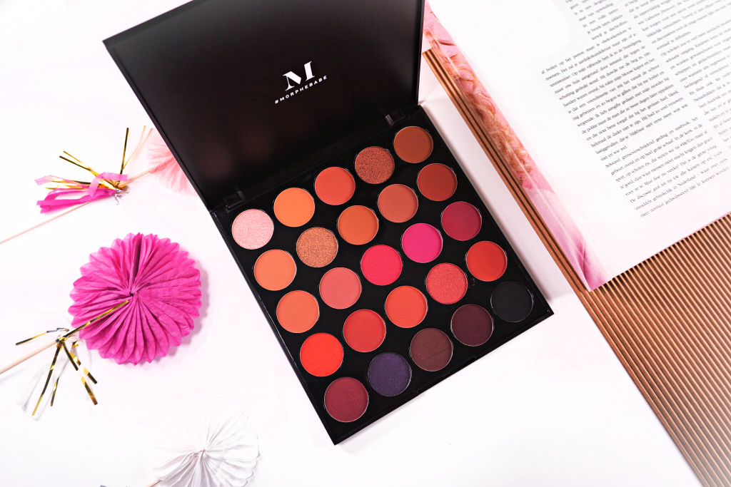 Morphe 25C Hey Girl Hey Artistry Palette Oogschaduw Palette Review