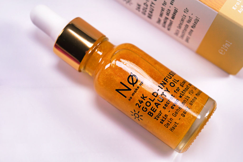Nø No Make Up Glow Today 24K Gold-Infused Beauty Oil review