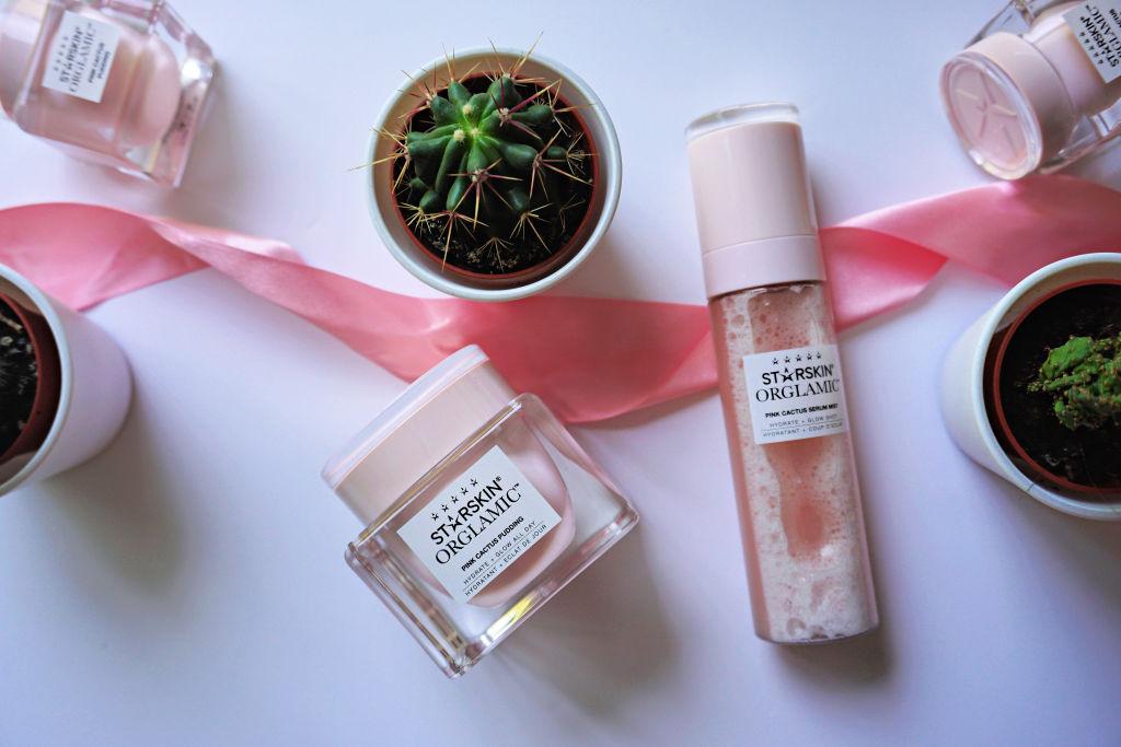 Starskin Orglamic Pink Cactus Pudding Crème & Pink Cactus Serum Mist