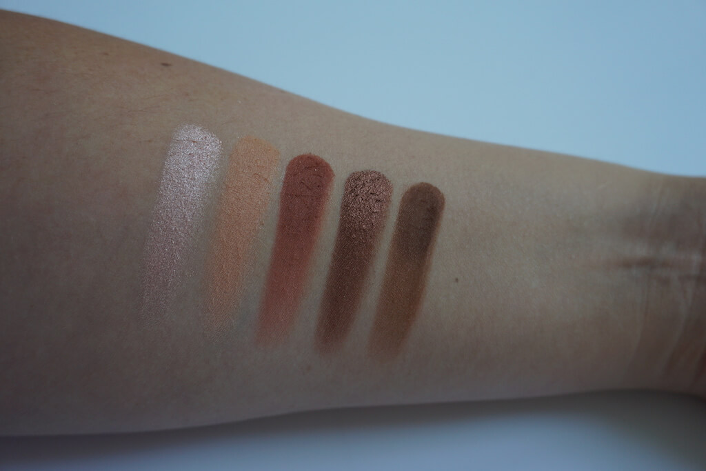 Morphe 25C Hey Girl Hey Artistry Palette Swatches
