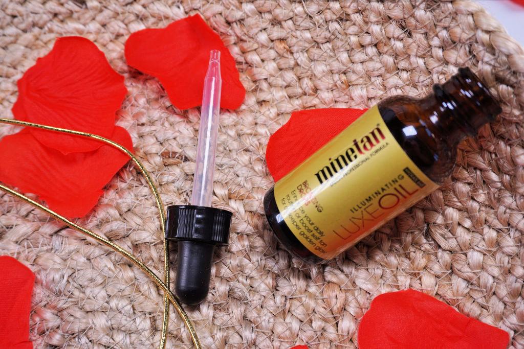 MineTan Luxe Oil Illuminating Bronzing Drops Zelfbruiner Druppels Review