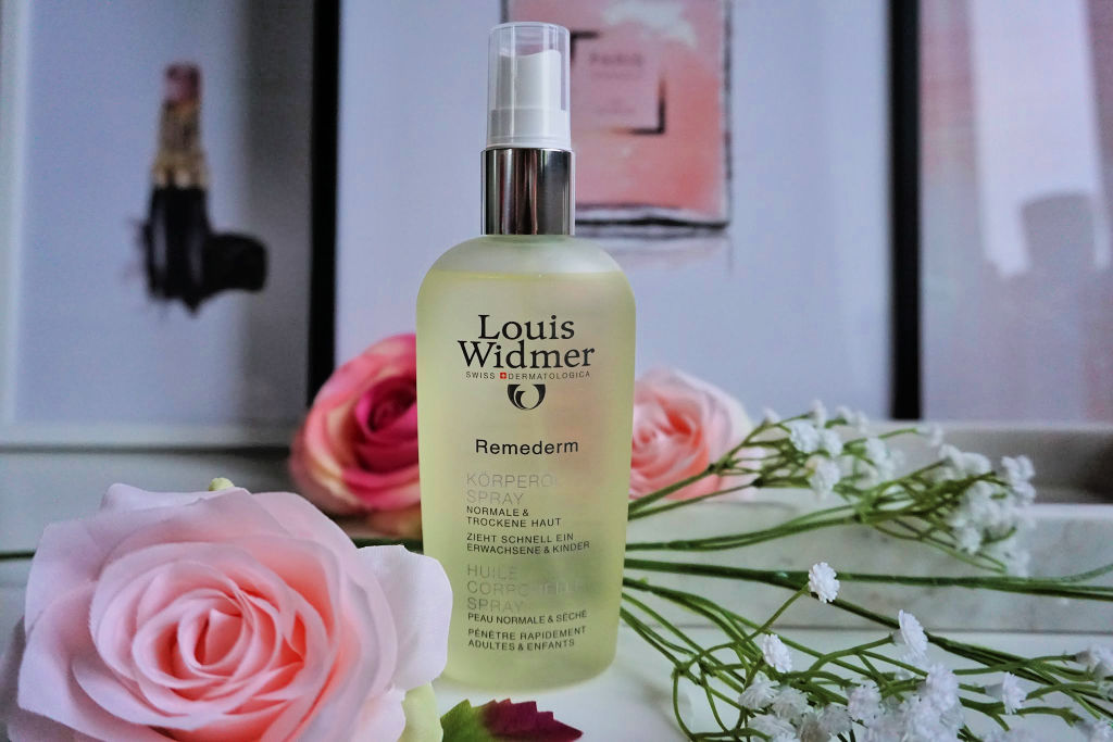 Louis Widmer Remederm Lichaamsolie Spray Review