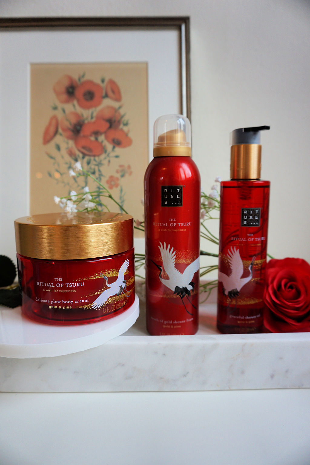 Rituals The Ritual of Tsuru Doucheschuim, Douche Olie & Body Cream Review