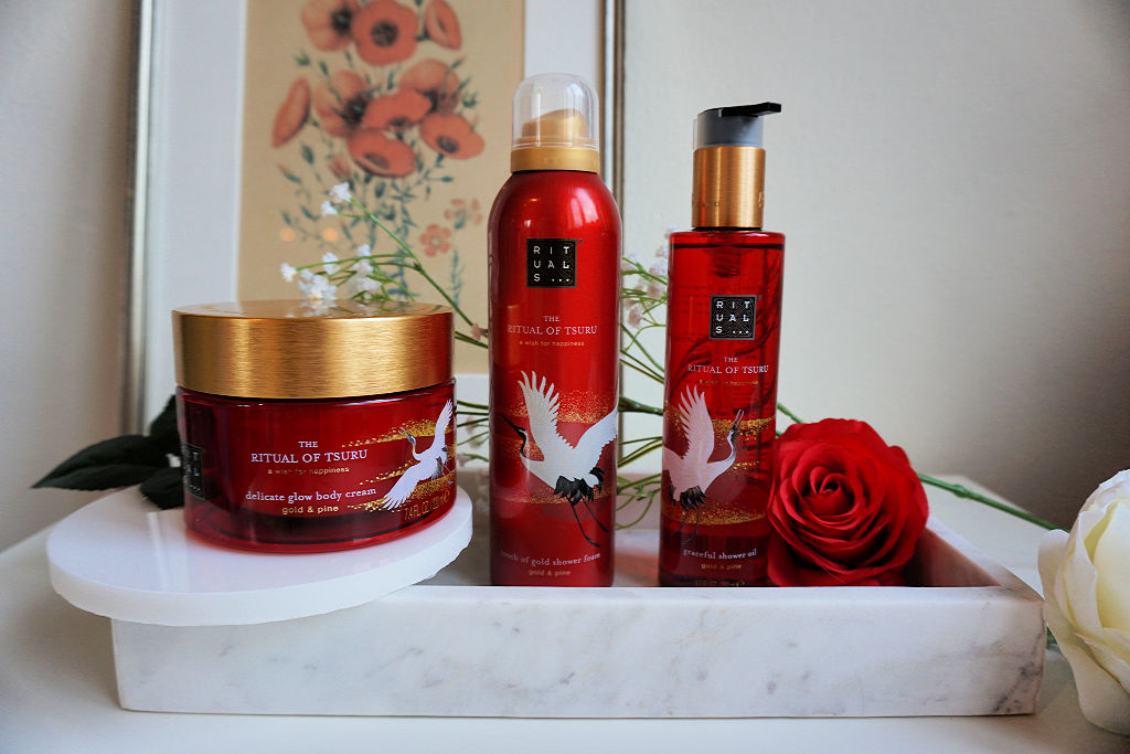 Rituals The Ritual of Tsuru Doucheschuim, Douche Olie & Body Cream