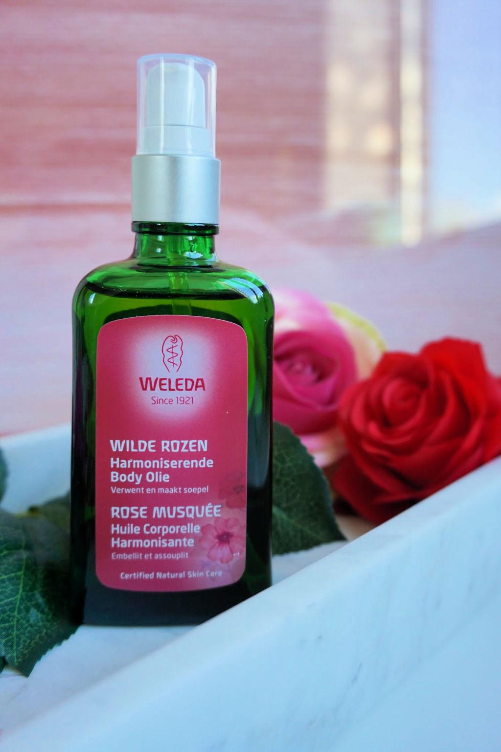 Weleda Wilde Rozen Harmoniserende Body Olie Review