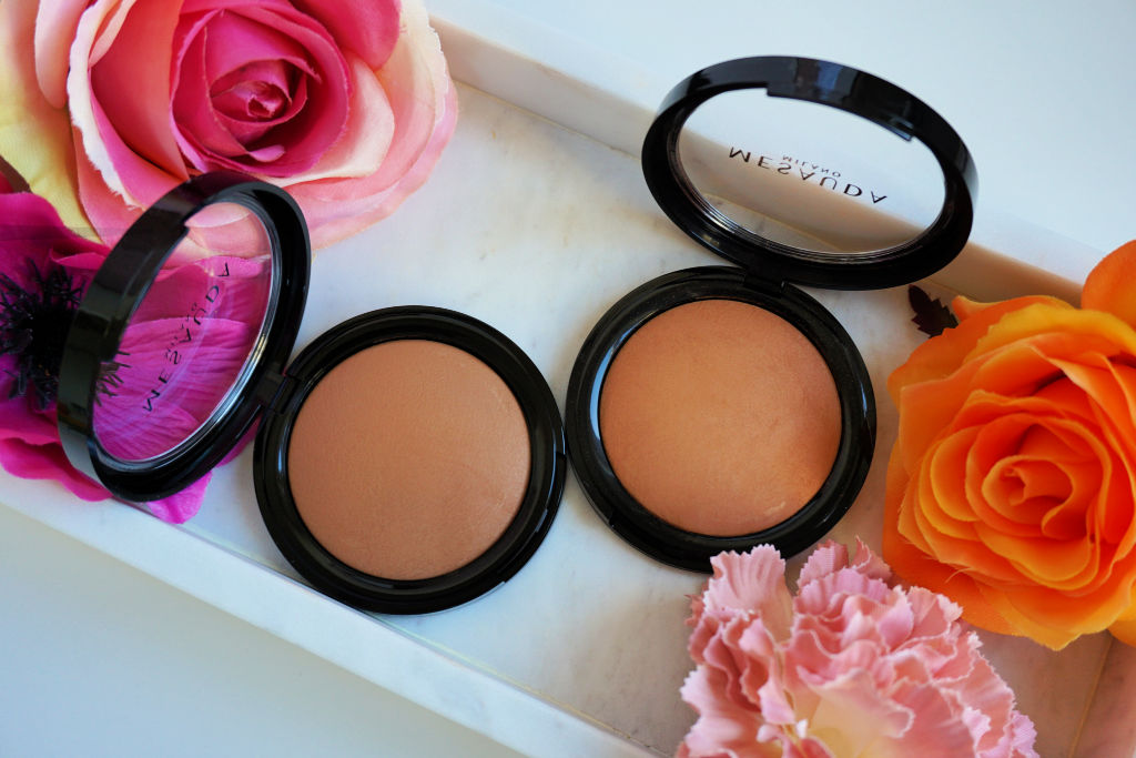 Mesauda Milano Light'N Bronze Baked Bronzer in 104 Sun Kissed & 105 Sun Tanned