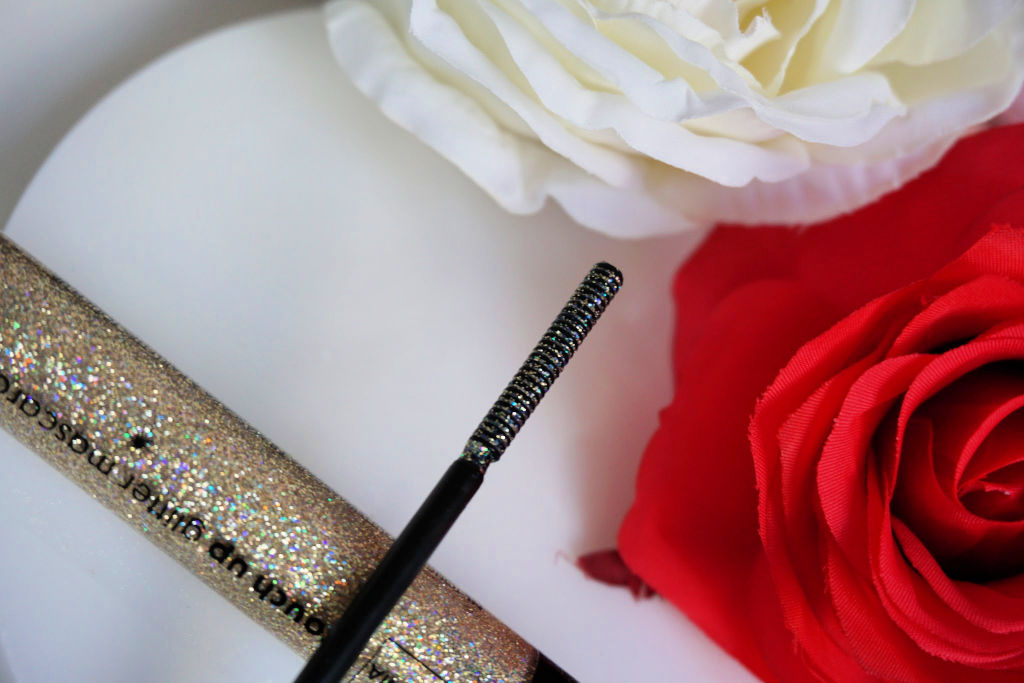 HEMA B.A.E. touch up glitter mascara review