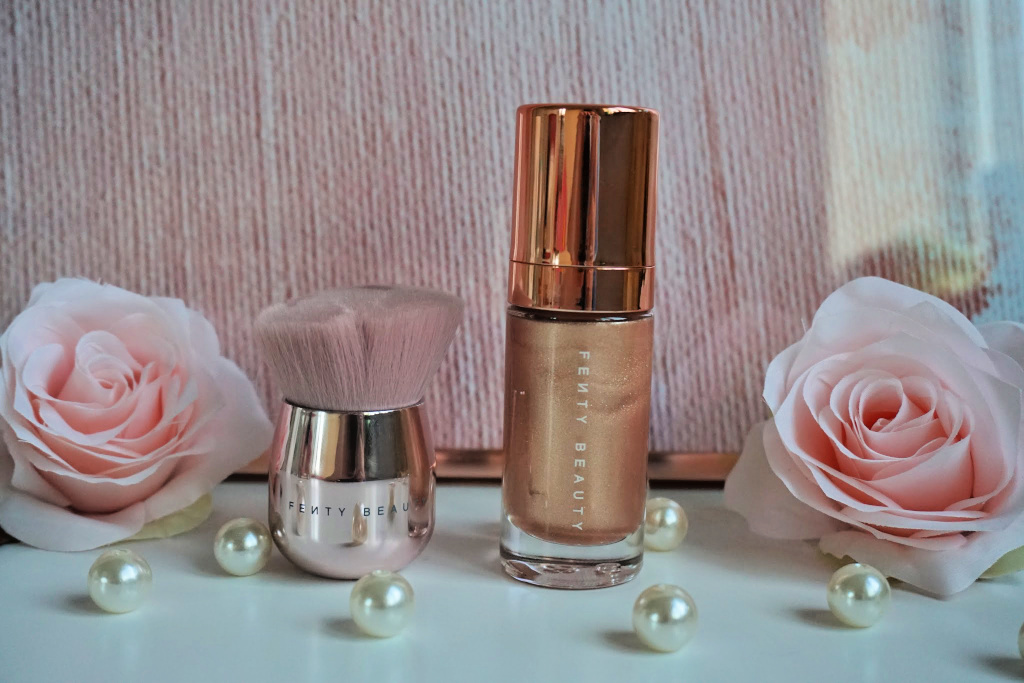 Fenty Beauty Mini Body Lava 'Who Needs Clothes?' & Kabuki Brush Review