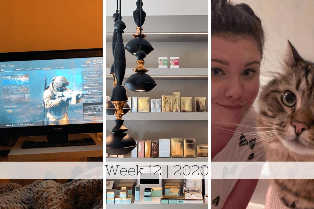 Week 12 | Binnenzitten en quality time met James