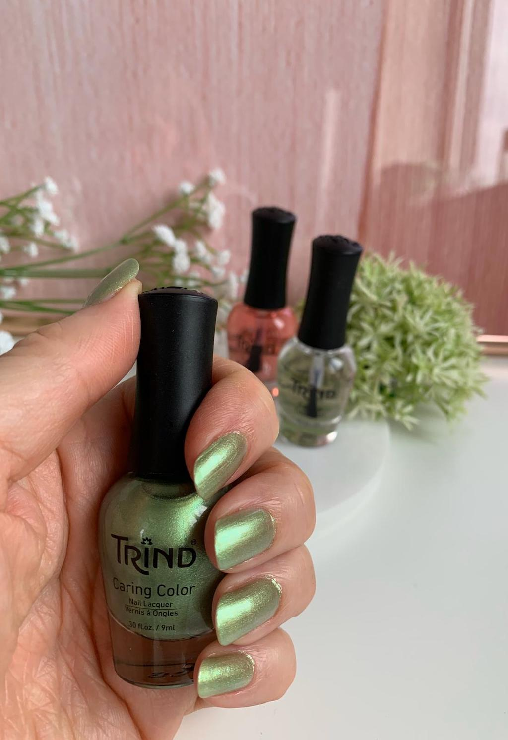Trind nagellak Sparkling Moss review