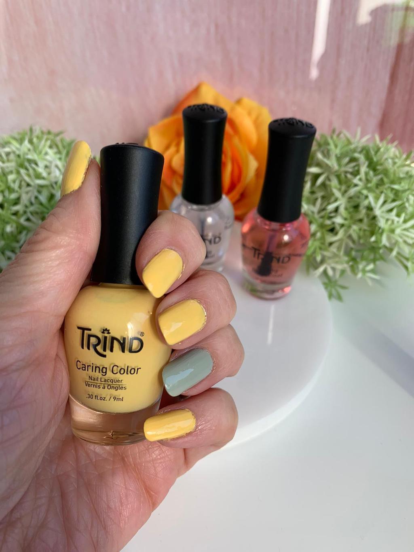 Trind nagellak Hello Sunshine review