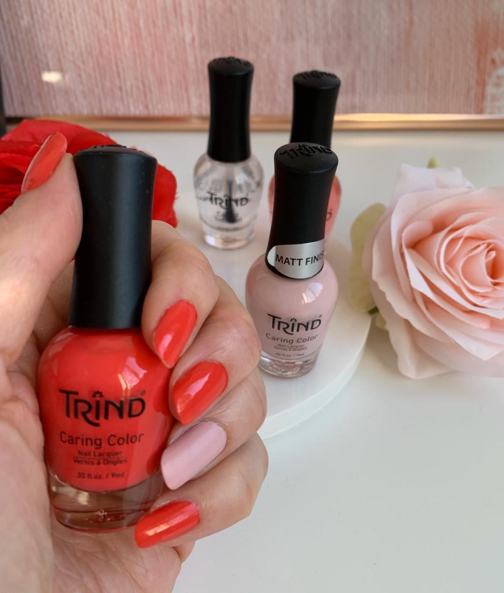 Trind nagellak Hydrangea review