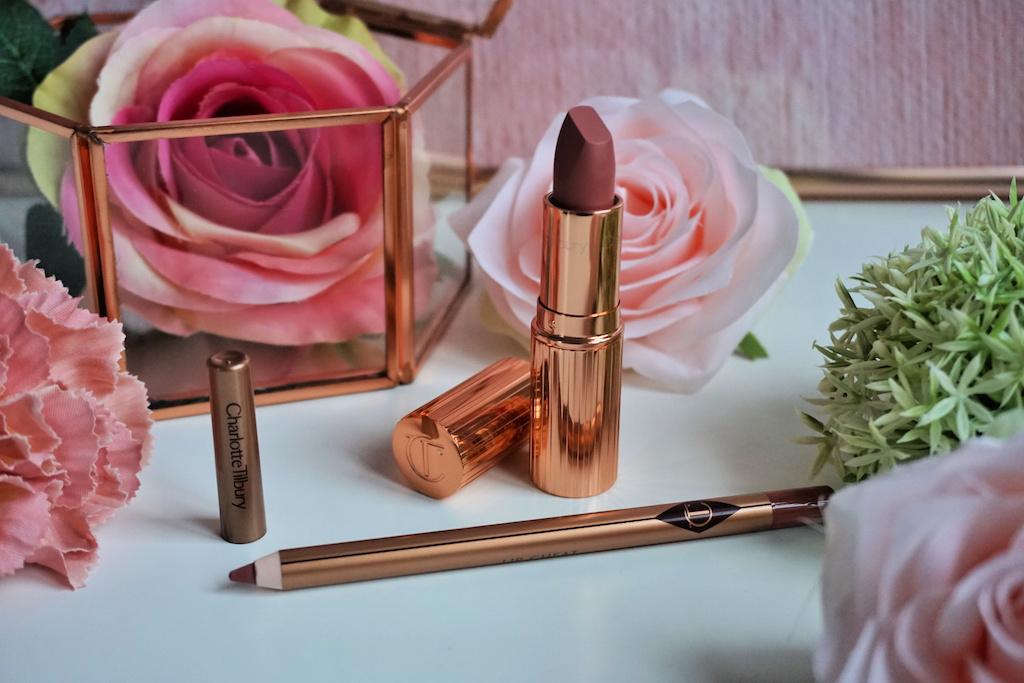 Charlotte Tilbury Pillow Talk Lipstick & Lip Cheat Lipliner Review