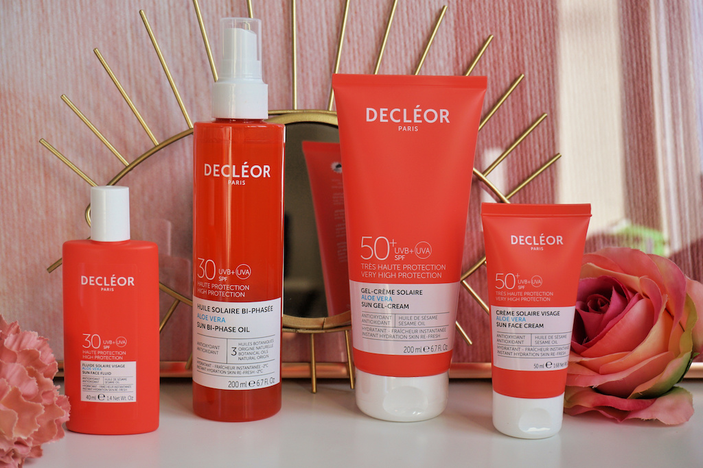 Decléor Aloë Vera Sun Zonnebrand producten review