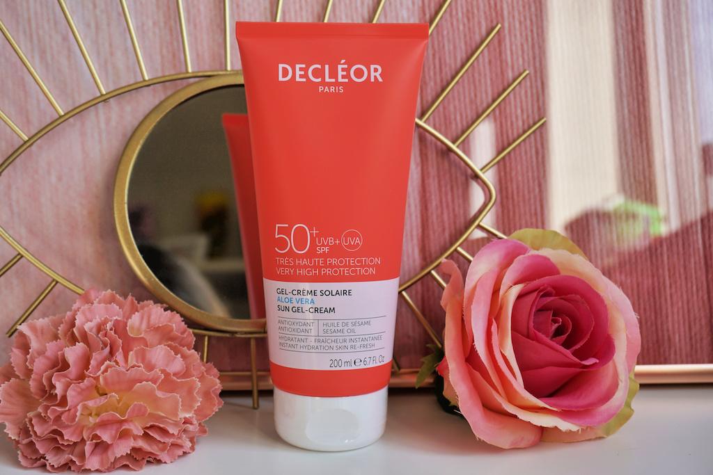 Decléor Aloë Vera SunGel-Cream SPF 50+ review