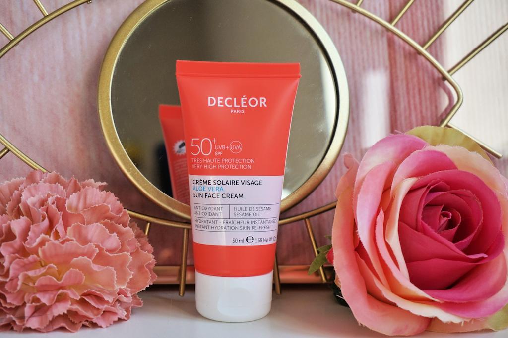 Decléor Aloë Vera Sun Face Cream SPF 50+ review