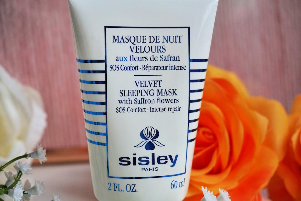 Sisley Masque de Nuit Velours aux Fleurs de Safran Masker Review