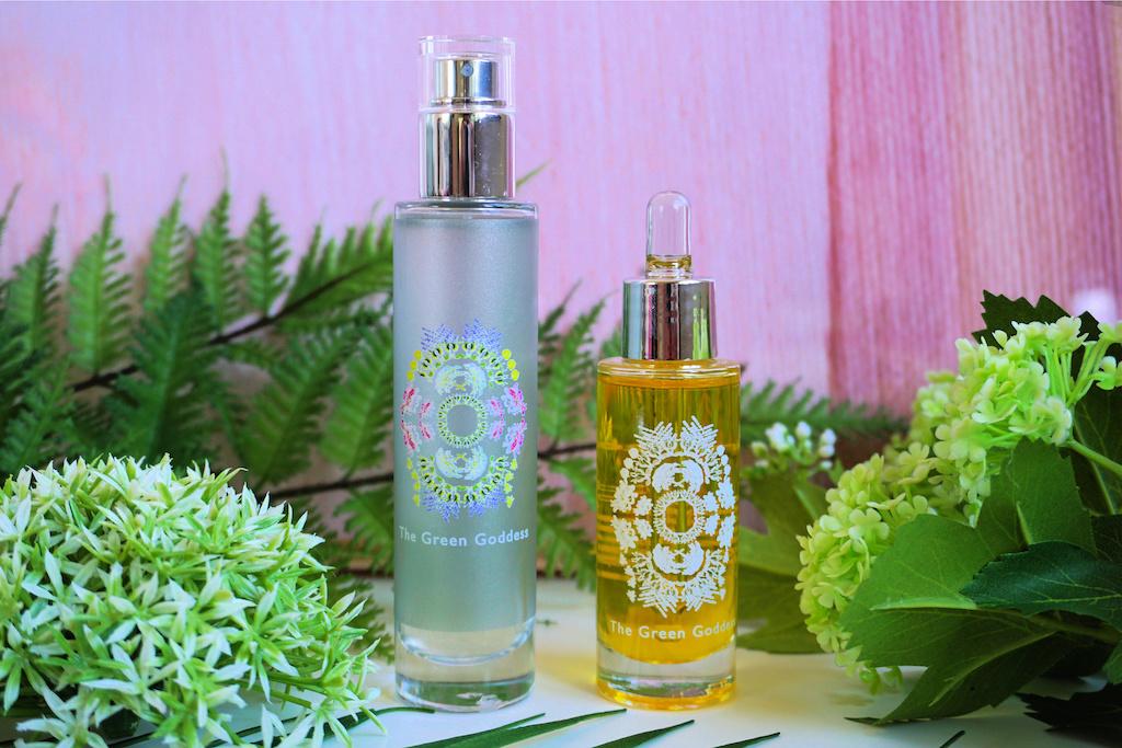 The Green Goddess Hydrolate Toner & Organic Facial Oil